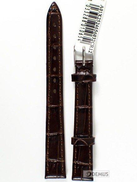 Pasek skórzany do zegarka - Morellato A01X2524656032 12mm