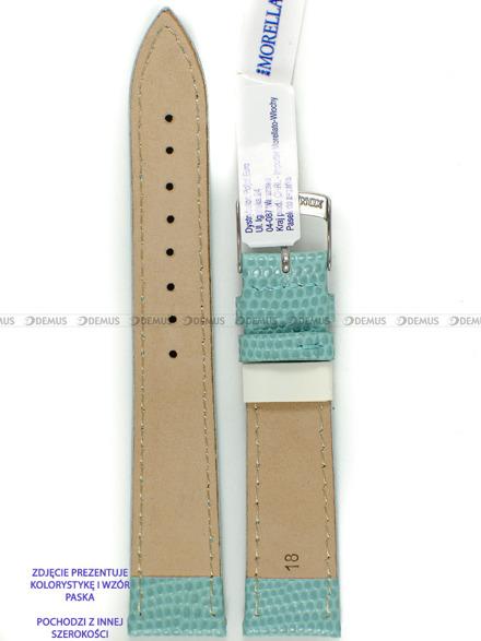 Pasek skórzany do zegarka - Morellato A01X3266773068CR20 - 20 mm