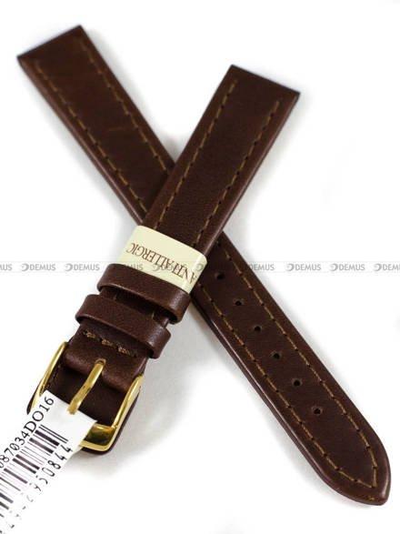 Pasek skórzany do zegarka - Morellato A01X3603087034DO16 - 16 mm