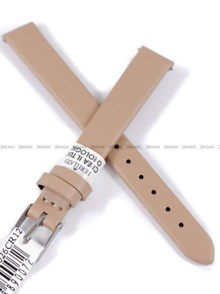 Pasek skórzany do zegarka - Morellato A01X5200875026CR12 - 12 mm