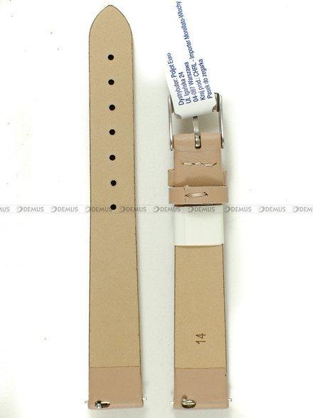 Pasek skórzany do zegarka - Morellato A01X5200875026CR14 - 14 mm