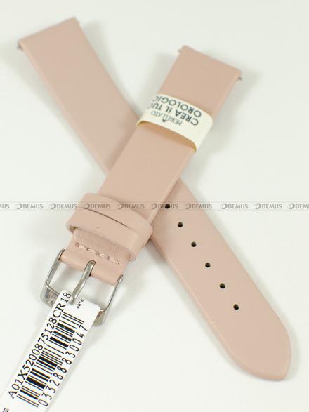 Pasek skórzany do zegarka - Morellato A01X5200875128CR18 - 18 mm