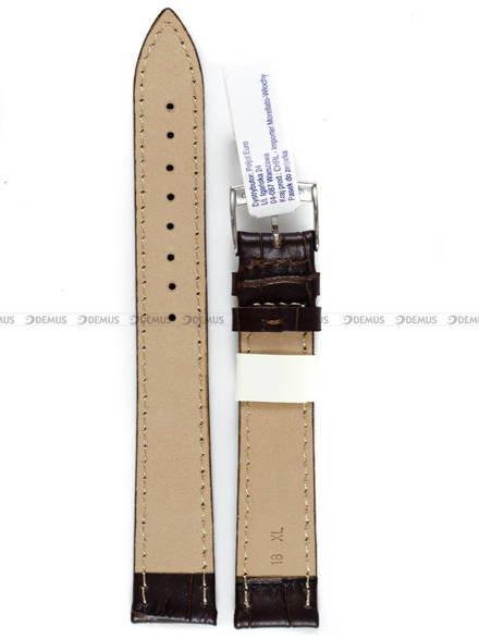 Pasek skórzany do zegarka - Morellato A01Y2269480032CR18 - 18 mm - XL