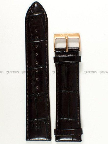 Pasek skórzany do zegarka - Orient FUG1R005W6 UDDYLRT - 22 mm