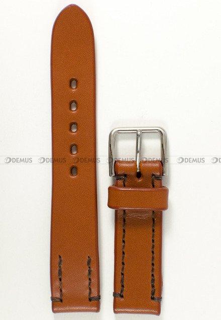 Pasek skórzany do zegarka Orient Star SDK02001B0 - UDEWFST - 21 mm