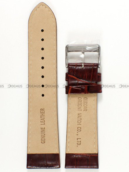Pasek skórzany do zegarka - Orient FEVAD003WT UDDARST - 25 mm