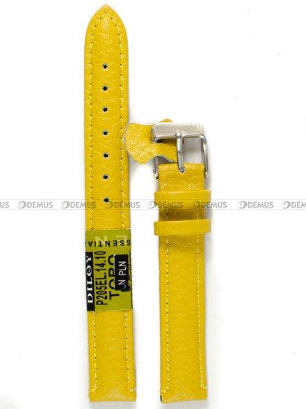 Pasek skórzany do zegarka - P205EL.14.10 - 14 mm