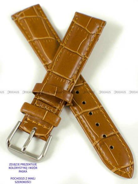 Pasek skórzany do zegarka - Pacific W102.20.3.3 - 20 mm