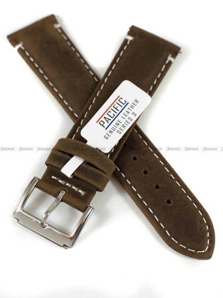 Pasek skórzany do zegarka - Pacific W103.22.2.7 - 22 mm