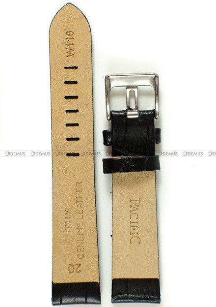 Pasek skórzany do zegarka - Pacific W116.20.1 - 20 mm