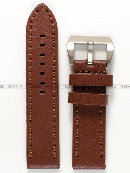 Pasek skórzany do zegarka - Pacific W27.24.2 - 24 mm
