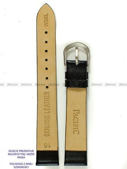 Pasek skórzany do zegarka - Pacific W36L.18.1 - 18 mm
