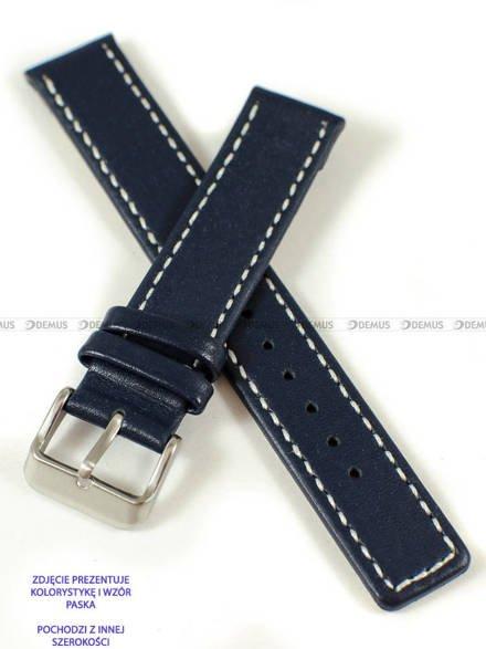 Pasek skórzany do zegarka - Pacific W37.24.5.7 - 24 mm