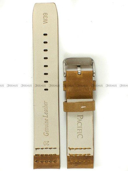 Pasek skórzany do zegarka - Pacific W39.20.3.3 - 20 mm