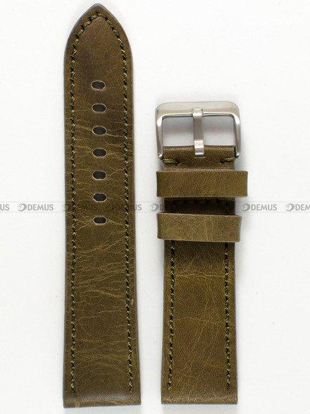 Pasek skórzany do zegarka - Pacific W48.24.31 - 24 mm
