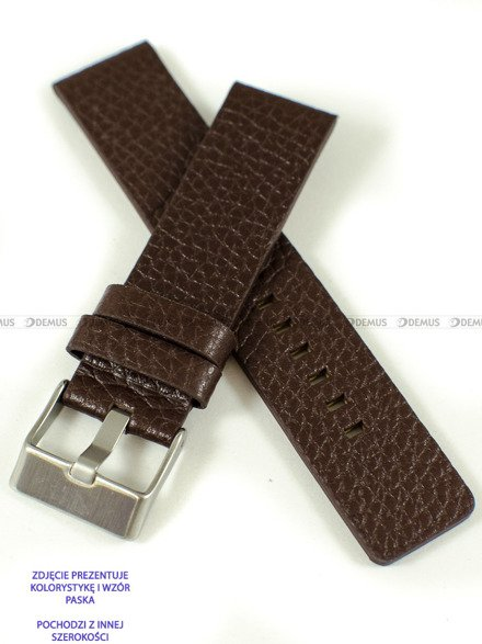 Pasek skórzany do zegarka - Pacific W60.28.2 - 28 mm