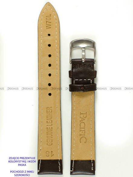 Pasek skórzany do zegarka - Pacific W70L.16.2.2 - 16 mm