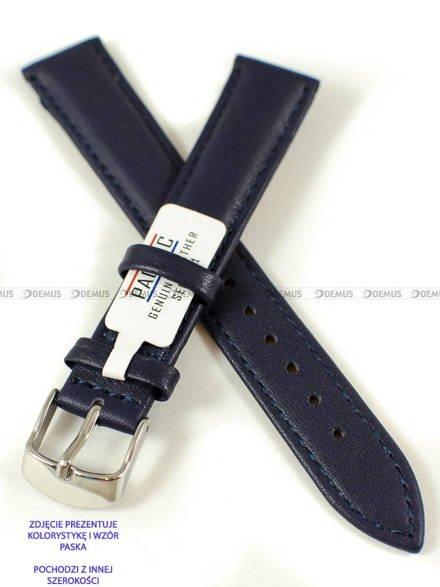 Pasek skórzany do zegarka - Pacific W70L.16.5.5 - 16 mm