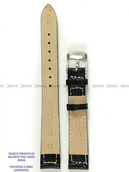 Pasek skórzany do zegarka - Pacific W71.18.1.4 - 18 mm