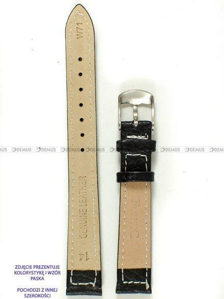 Pasek skórzany do zegarka - Pacific W71.22.1.7 - 22 mm