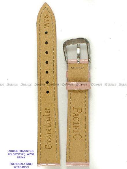 Pasek skórzany do zegarka - Pacific W75.14.20.20 - 14 mm