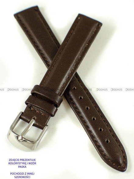 Pasek skórzany do zegarka - Pacific W83N.18.2.2 - 18 mm