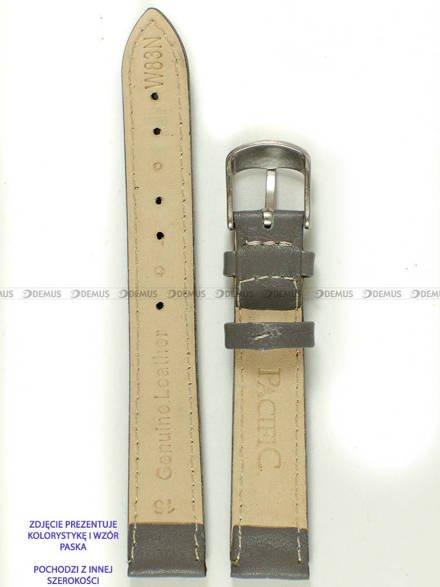 Pasek skórzany do zegarka - Pacific W83N.22.6.6 - 22 mm