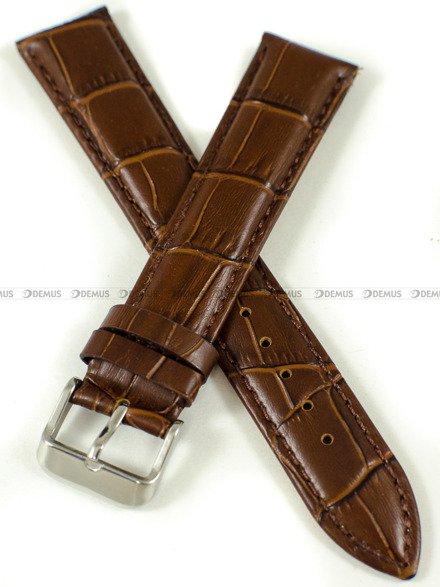 Pasek skórzany do zegarka - Pacific W87XL.20.2.2 - 20 mm