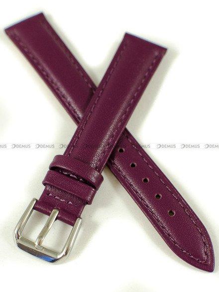 Pasek skórzany do zegarka - Pacific W94.16.14.14 - 16 mm