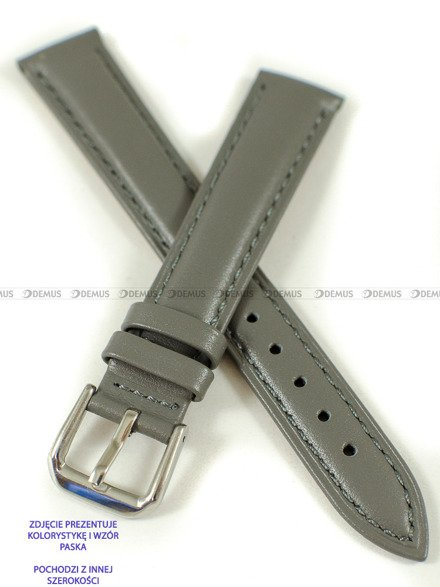 Pasek skórzany do zegarka - Pacific W94.20.61.61 - 20 mm