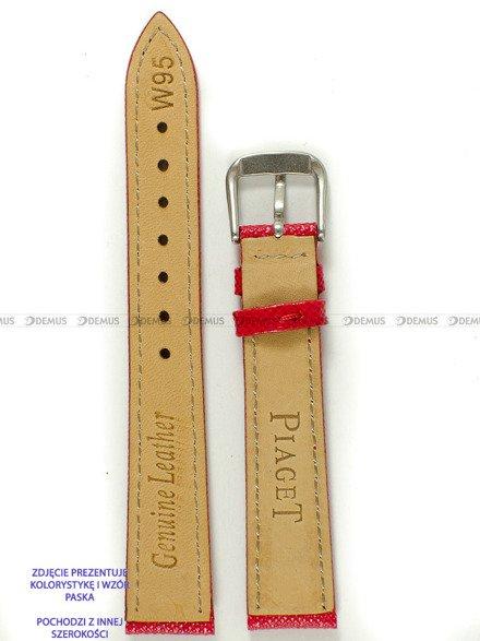 Pasek skórzany do zegarka - Pacific W95.12.4.4 - 12 mm