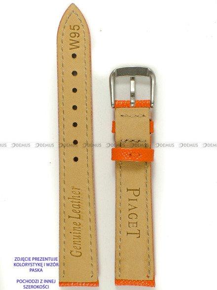 Pasek skórzany do zegarka - Pacific W95.20.12.12 - 20 mm