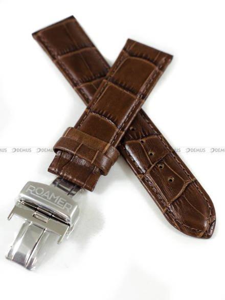 Pasek skórzany do zegarka Roamer - 934950 41 15 05 - 22 mm