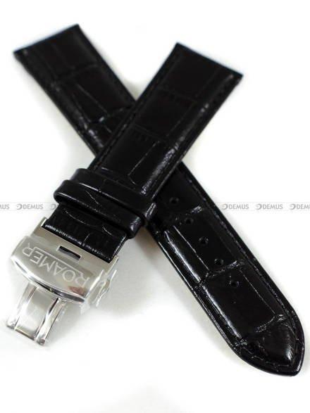 Pasek skórzany do zegarka Roamer - 934950 41 55 05 - 22 mm