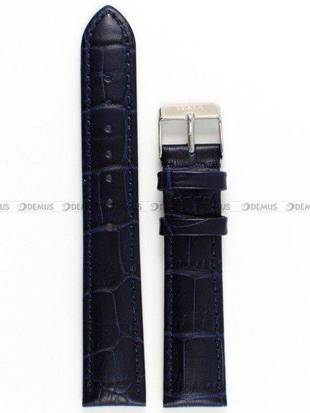 Pasek skórzany do zegarka - Tekla PT22.18.51 - 18 mm
