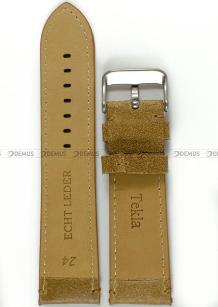 Pasek skórzany do zegarka - Tekla PT36.24.3.3 - 24 mm