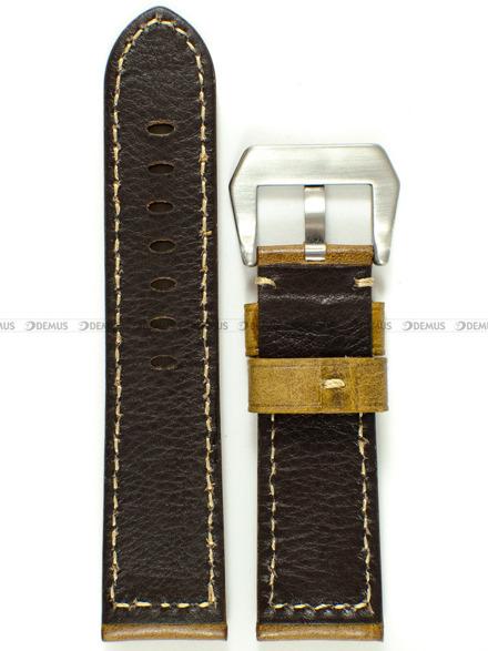 Pasek skórzany do zegarka - Tekla PT46.24.2.7 - 24 mm