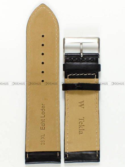 Pasek skórzany do zegarka - Tekla PT58.28.1.4.XL - 28 mm