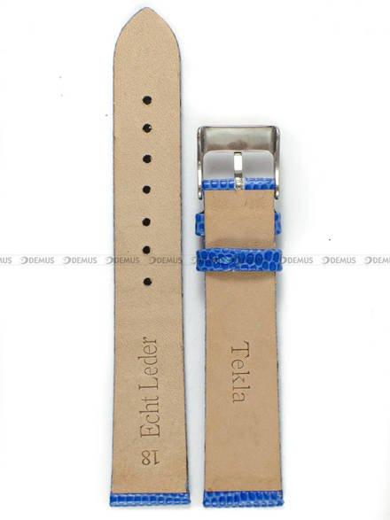 Pasek skórzany do zegarka - Tekla PT7.18.51 - 18 mm