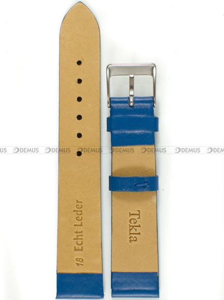 Pasek skórzany do zegarka - Tekla PT8.18.51 - 18 mm