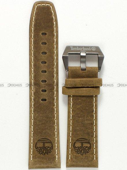 Pasek skórzany do zegarka Timberland TBL.14399XSBN/12 Pinkerton - 24 mm