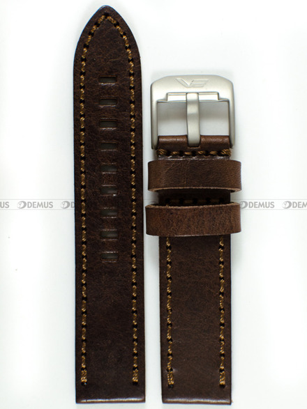Pasek skórzany do zegarka Vostok Almaz NH35A-320H263 - 22 mm
