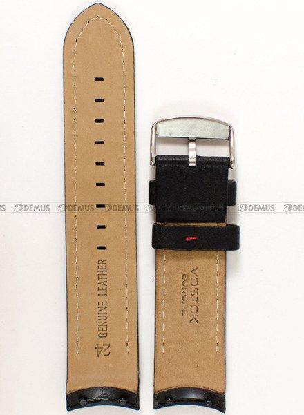 Pasek skórzany do zegarka Vostok Anchar NH35A-5105141 - 24 mm