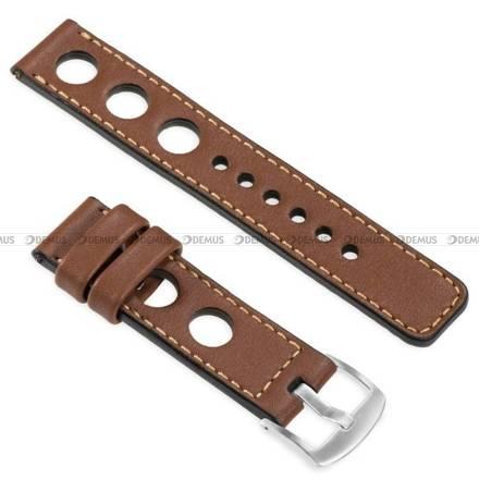 Pasek skórzany do zegarka lub smartwatcha - moVear WQU0R01GD00SLBM22B2 - 22 mm