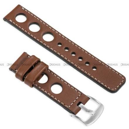 Pasek skórzany do zegarka lub smartwatcha - moVear WQU0R01SL00SLBM24B2 - 24 mm