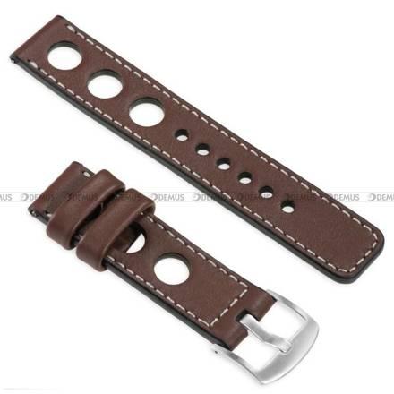 Pasek skórzany do zegarka lub smartwatcha - moVear WQU0R01SL00SLBM26B1 - 26 mm