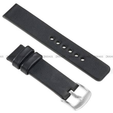 Pasek skórzany do zegarka lub smartwatcha - moVear WQU0S010000SLBM26BK - 26 mm