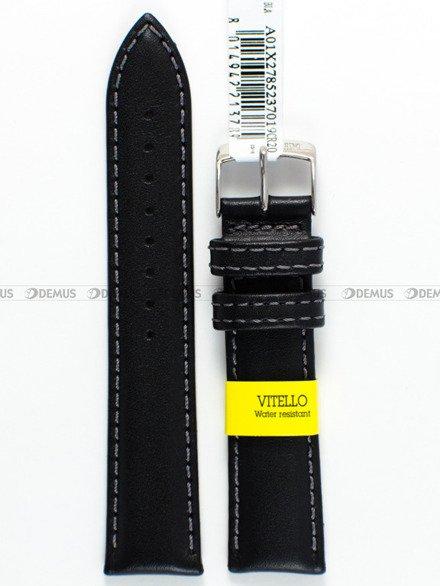 Pasek skórzany wodoodporny do zegarka - Morellato A01X2785237019 20mm