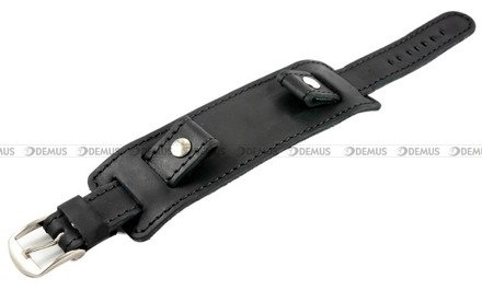 Pasek skórzany z podkładką do zegarka - Horido 0112.01.26S - 26 mm