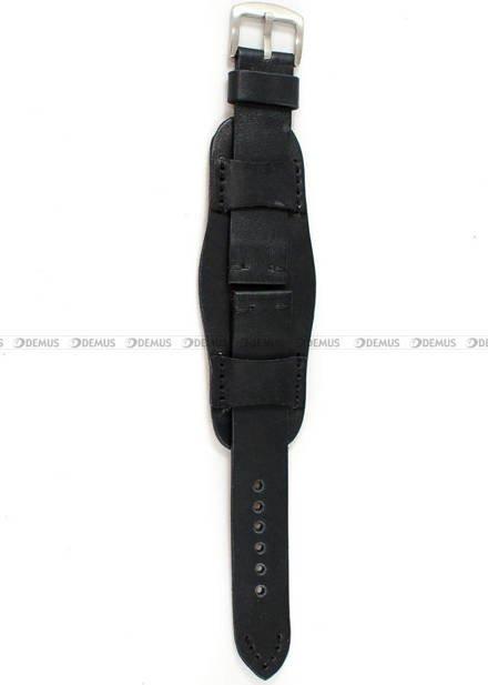 Pasek skórzany z podkładką do zegarka - Tekla PT63.22.1.1